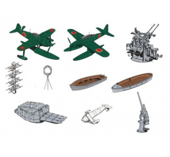 Accessoires navires legers Tamiya 1/700 - TAM-31518