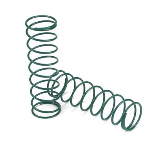 15mm SPrings 3.1  x 3.1 Rate, Green: 8B - LOSA5458