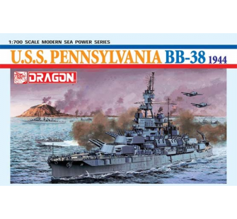 USS Pennsylvania BB-38 Dragon 1/700 - T2M-D7041
