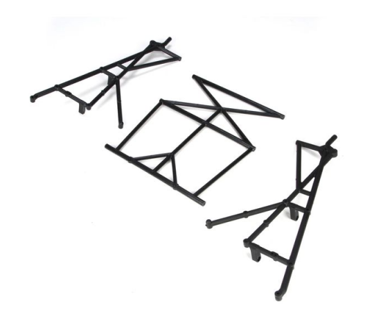 Rear Top & Side Cage Set: 5TT - LOSB2579