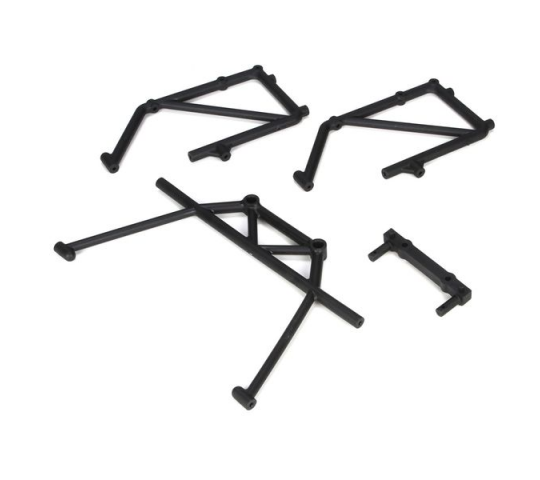 Rear Cage Mount & Fender Brace Set (4): 5TT - LOSB2580