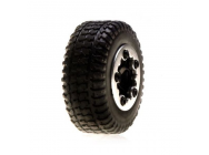 Tires, Mounted, Black Chrome: Micro SCT - LOSB1585