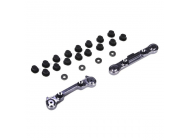 Rear Suspension Mount Set, Aluminum: Mini 8IGHT - LOSB1899