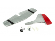 Complete Tail w/Accessories: UM P51D Mustang AS3X - PKZU2425