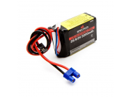 3000mAh 2S 6.6V Li-Fe Receiver Battery - SPMB3000LFRX