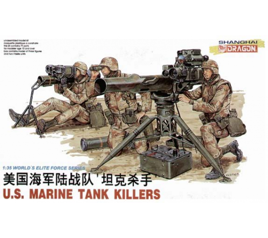 US Marine Tank Killers Dragon 1/35 - T2M-D3012