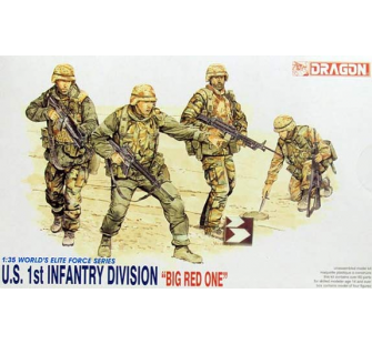 Infanterie US Big red One Dragon 1/35 - T2M-D3015
