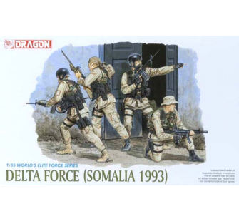 Delta Force Somalie 1993 Dragon 1/35 - T2M-D3022