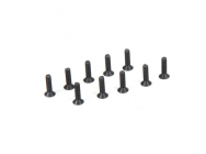 Flat Head Screws, M2.5 x 10mm (10) - TLR235007