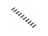 Button Head Screws, M4x16mm (10) - TLR255008