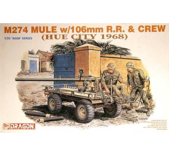M274 Mule et servants Dragon 1/35 - T2M-D3315