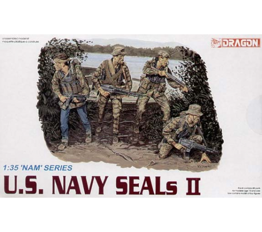 US Navy SEAL II Dragon 1/35 - T2M-D3316