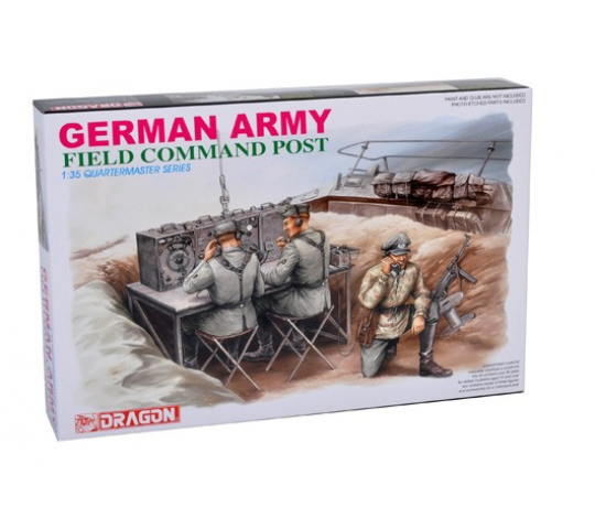Poste commandement Allemand Dragon 1/35 - T2M-D3823
