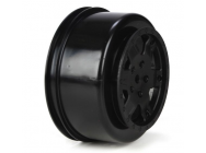 Wheel, Black (2): 22SCT - TLR7011