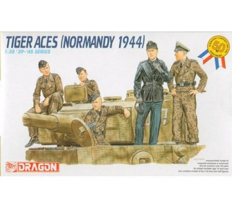Tankistes All. Normandie 1944 Dragon 1/35 - T2M-D6028