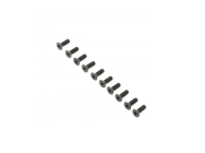 Flat Head Screws, M4x12mm (10) - TLR255013