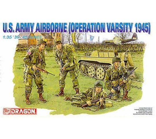 US Airborne Operation Varsity Dragon 1/35 - T2M-D6148