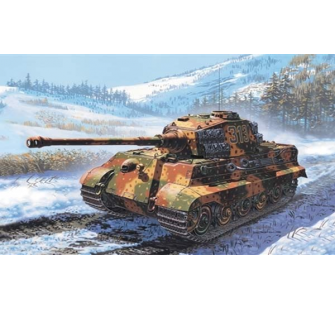 King Tiger Italeri 1/72 - T2M-I7004
