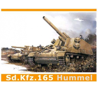 Sd.Kfz.165 Hummel Debut Prod. Dragon 1/35 - T2M-D6150