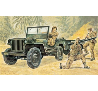 Jeep Willys Italeri 1/35 - T2M-I314