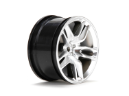 Wheel RR 14  Corvette Z51 54x30mm Black (2) - VTR43034
