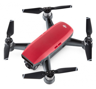 DJI SPARK Drone  Magma ROUGE  - DJI-SPARK-ROUGE