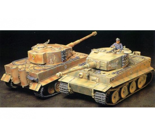 Tiger I milieu de production Tamiya 1/35 - TAM-35194