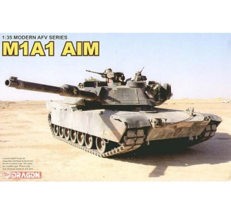 Abrams M1A1 AIM Dragon 1/35 - T2M-D3535