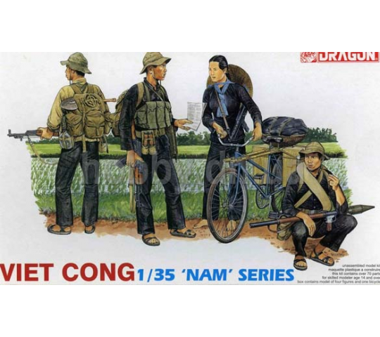 Viet Congs Dragon 1/35 - T2M-D3304