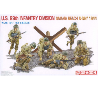 29th US Inf.Div. Omaha Beach Dragon 1/35 - T2M-D6211