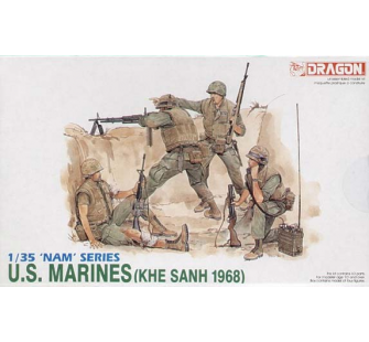 US Marines 1968 Dragon 1/35 - T2M-D3307