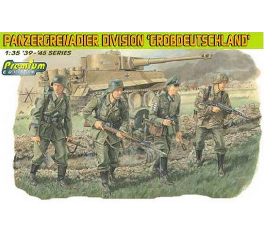Panzergrenadiers Karachov Dragon 1/35 - T2M-D6304