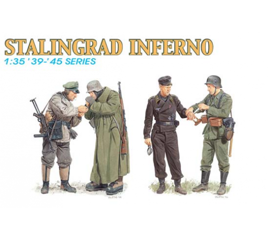 Enfer de Stalingrad Dragon 1/35 - T2M-D6343