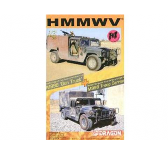 Humvee Cargo and Troop Carrier Dragon 1/72 - T2M-D7309