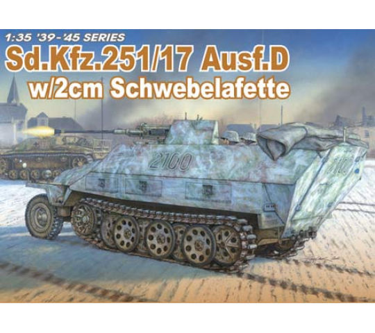 Sd.Kfz.251/17 Ausf.D Dragon 1/35 - T2M-D6292