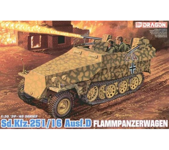 Sd.Kfz.251/16 Flamm Dragon 1/35 - T2M-D6247