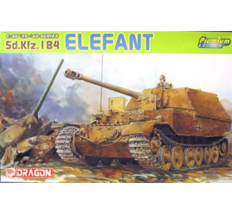 Sd.Kfz.184 Elefant Premium Dragon 1/35 - T2M-D6311