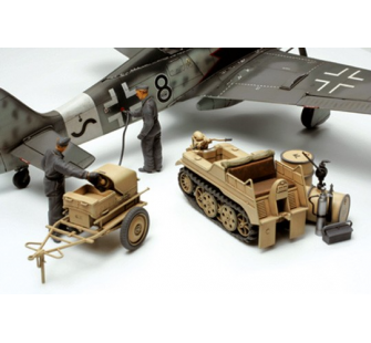 Kettenkrad et generateur avion Tamiya 1/48 - TAM-32533