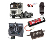 Pack Camion Tamiya MB Arocs 3363 6x4 Complet Radio / Chargeur / Accu - PACK-56352