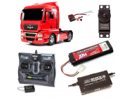 PACK CAMION TAMIYA MAN TGX 18.540 COMPLET / RADIO / CHARGEUR / ACCU - BDL-56332