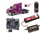 PACK CAMION TAMIYA FORD AEROMAX COMPLET / RADIO / CHARGEUR / ACCU - BDL-56309