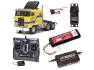 PACK CAMION TAMIYA GLOBE LINER COMPLET / RADIO / CHARGEUR / ACCU - BDL-56304