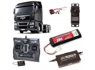PACK CAMION TAMIYA MAN TGX 26.540 6x4 XLX COMPLET / RADIO / CHARGEUR / ACCU - BDL-56325