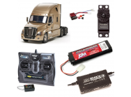 PACK CAMION TAMIYA CASCADIA EVOLUTION COMPLET / RADIO / CHARGEUR / ACCU - BDL-56340