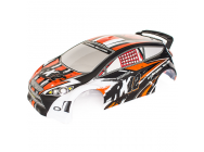 Carrosserie RX12 Orange - FunTek - FTK-RX12/002