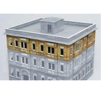 Extension de maison berlinoise italeri 1 72 t2m i6089 for Extension maison 72