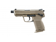 Replique H&K 45 CT FDE gaz blow-back 0,9j - UMAREX - .PG2045