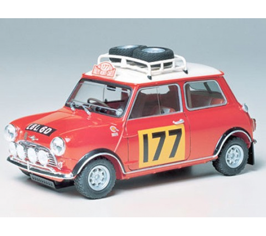 Mini Cooper 1275S Rally Tamiya 1/24 - TAM-24048