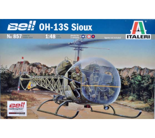 Bell OH-13S Sioux Italeri 1/48 - T2M-I857