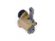 300M Folding Rear Sight (TAN) by VFC - .PS02216